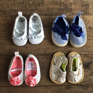 Carters Newborn Shoe Bundle